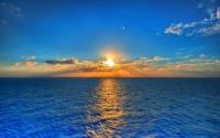 картинки закат солнца в океане