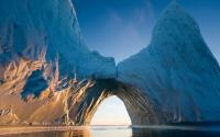 картинки арка в ледяной горе