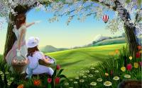 картинки весенний рисунок