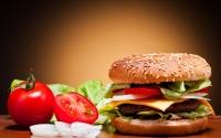 картинки большой гамбургер