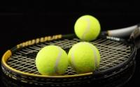 картинки теннисные ракетки и мячи