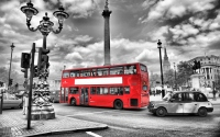 картинки черно-белый лондон
