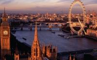 картинки закат в лондоне
