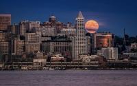 картинки лунная ночь в сиэтле
