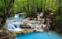 картинки лесной водопад