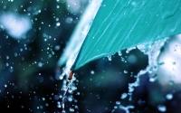 картинки капли дождя на зонте