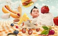 картинки в царстве еды