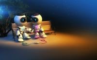 картинки влюбленные роботы