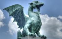 картинки статуя дракона