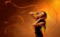 картинки music girl