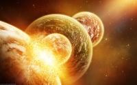 картинки огненные планеты