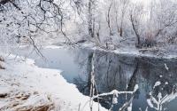 картинки весенняя река