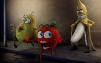 картинки веселый банан