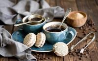 картинки кофе с печеньем