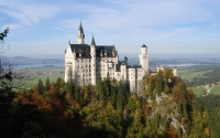 картинки замок нойшванштайн германия