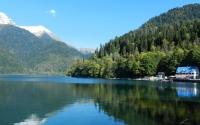 картинки озеро рица в абхазии