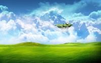 картинки летающий остров