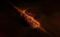 HD заставки Взрывающаяся планета скачать
