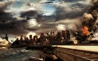картинки война в городе