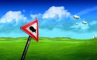 картинки странный дорожный знак