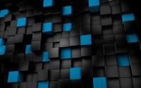 картинки черно-белые кубики
