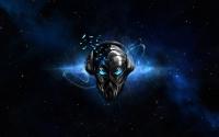 картинки маска космического робота