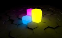 картинки неоновый свет фигур