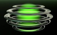 картинки зеленый абстрактный шар