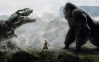 картинки кинг конг против динозавра