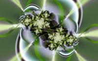 картинки abstract green flower